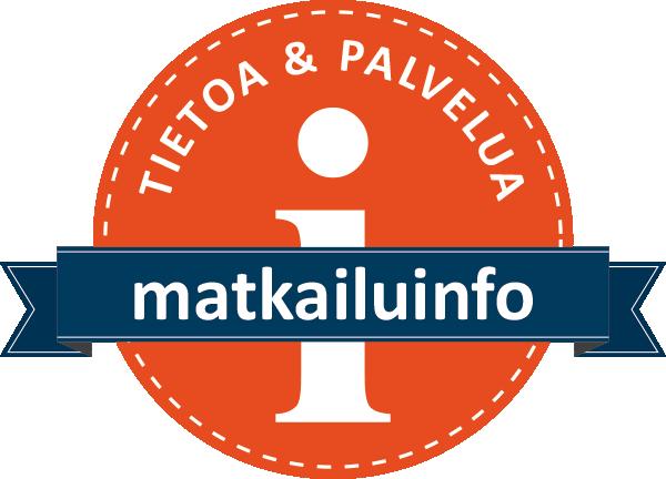 matkailuinfon oranssi logo