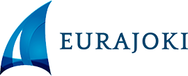 Eurajoki-logo, linkki etusivulle